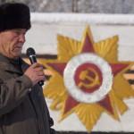 митинг, посвящённый 74-й годовщине со дня освобождения Белореченского района от немецко-фашистских захватчиков