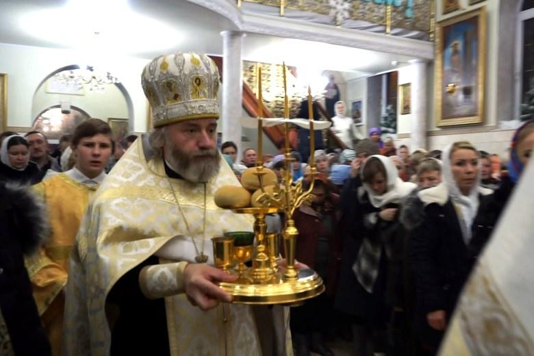 Рождество в Свято-Успенском храме