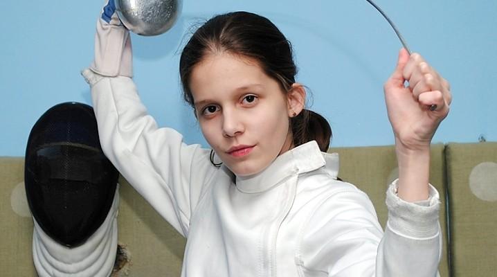 С победой вернулась юная белореченская фехтовальщица Виктория Покидько из Сочи