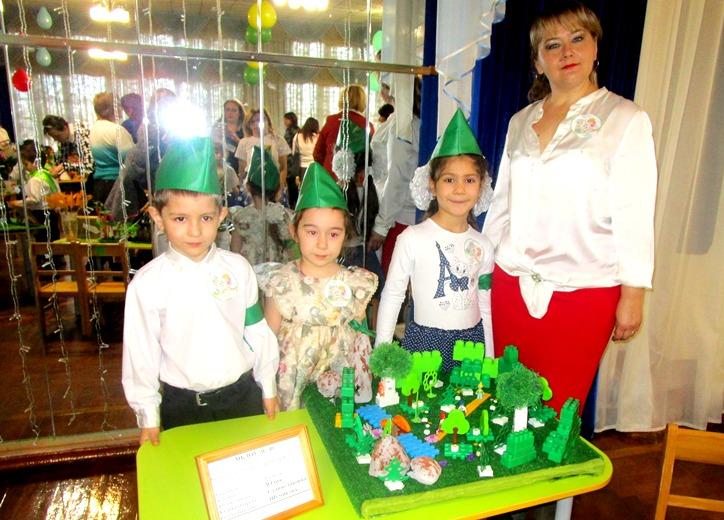 Степновские детсадовцы — за Зеленую планету!