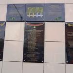 казаки Белореченского городского казачьего общества открыли еще две памятных доски