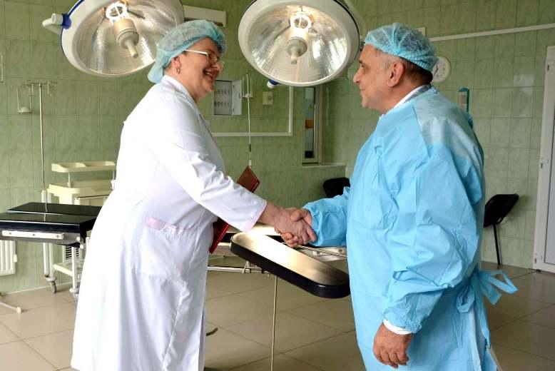 ЕвроХим-БМУ помог хирургам ЦРБ
