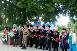Казаки Белореченского РКО,  День Победы