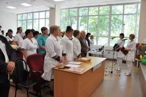 День медсестер в ЦРБ