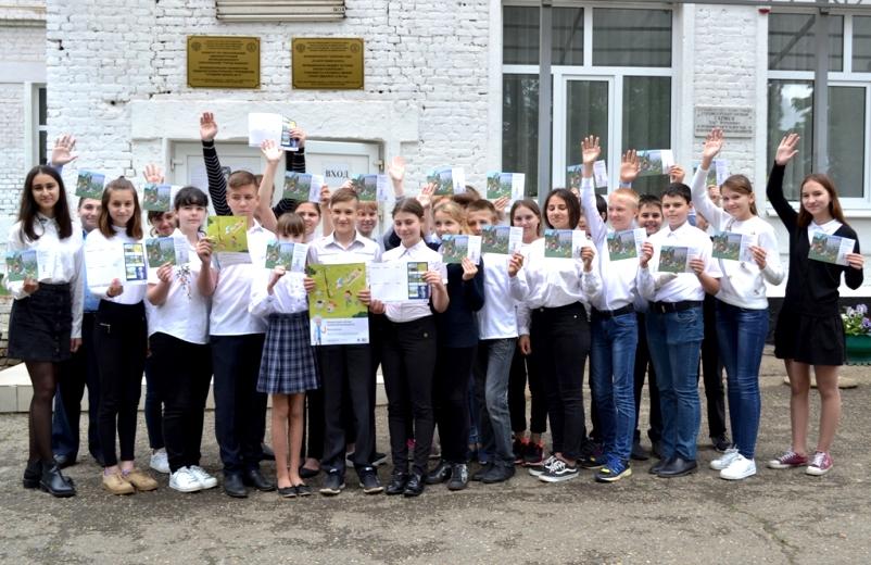 Энергетики Адыгеи пожелали школьникам безопасного лета