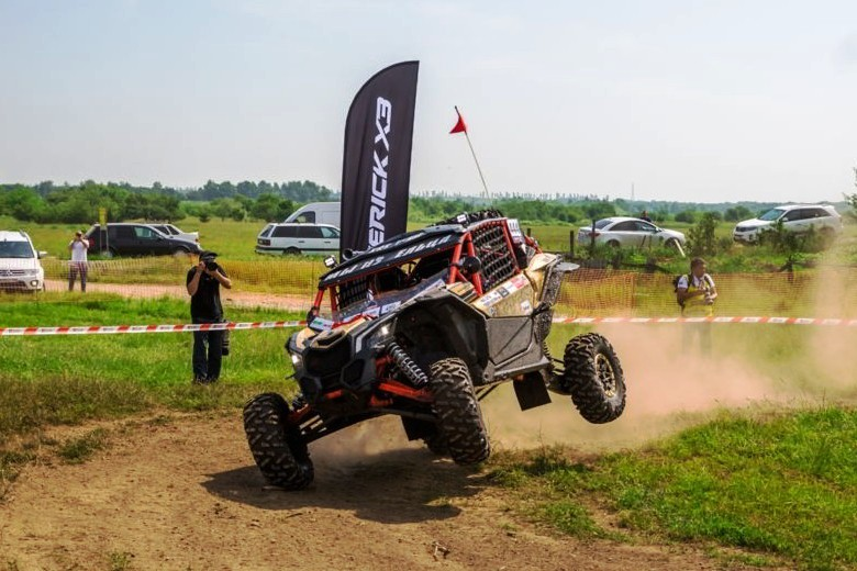 В Белореченске прошёл первый этап внедорожной квадросерии Can-Am X Race 2017