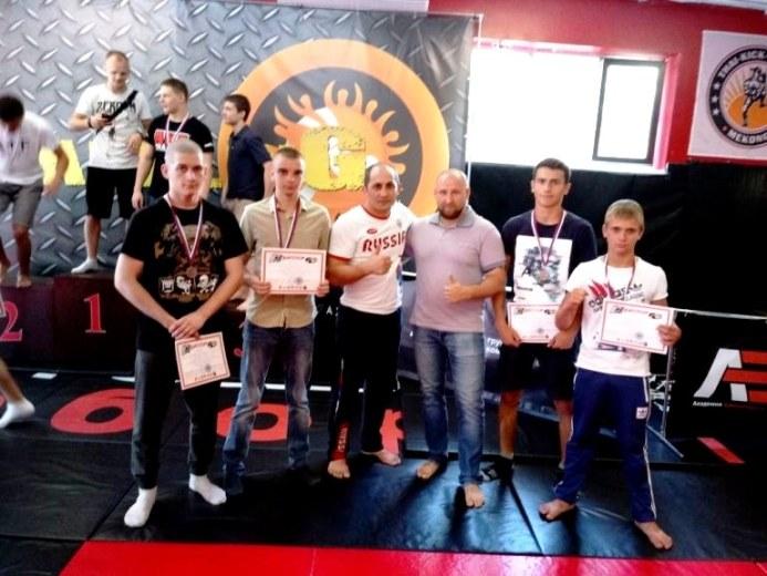 Белореченские джитсеры завоевали четыре медали на первенстве края