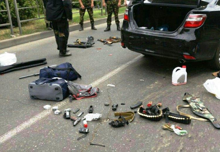 Нападение на полицейских в Краснодаре