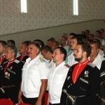 отчетный сбор Белореченского районного казачьего общества за 2016 - 2017 год