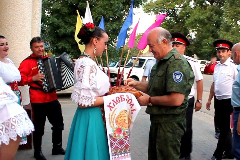 Отчетный сбор Белореченского районного казачьего общества за 2016 — 2017 год