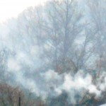 Дым в хуторе Кубанский