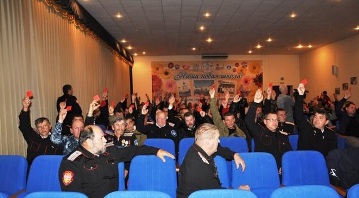 Избран новый атаман Белореченского районного казачьего общества