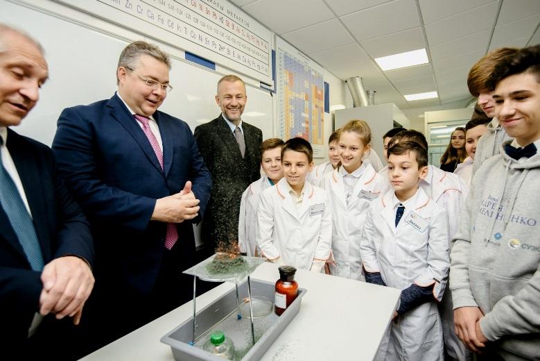 Предприниматель Андрей Мельниченко открыл очередной Центр для одарённых детей в российской провинции