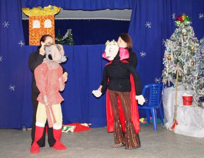 Театр кукол в горпарке Белореченска