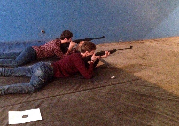 Соревнования по стрельбе среди студентов