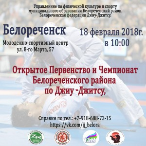 Чемпионат по джиу-джитсу @ Молодежно-спортивный центр