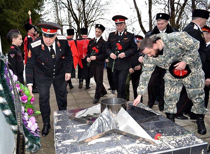 Атаманы ХКО Белореченского района приняли участие в большом Совете атаманов