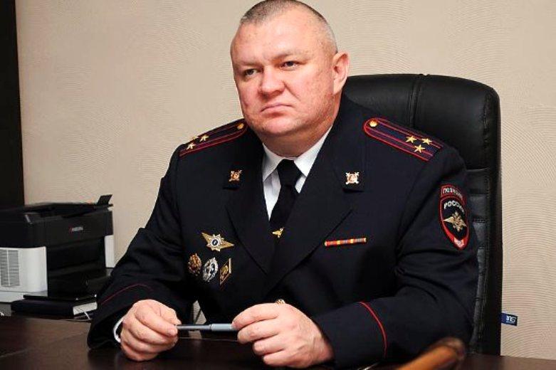В Белореченске состоялся отчет начальника отдела МВД России по Белореченскому району