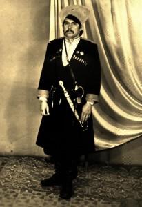 кубанский казак Евгений Нагай