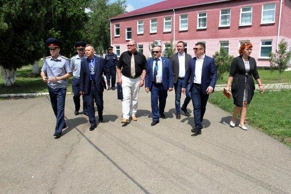 Члены Общественного совета при ФСИН России посетили Белореченскую воспитательную колонию