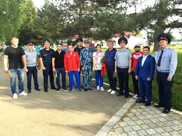 Звезды спорта встретились с осужденными в БВК
