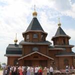 Престольный праздник в храме Серафима Саровского