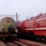 горящая цистерна Молодежный Комсомольская