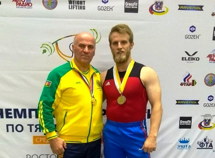 Виктор Гетц — чемпион России