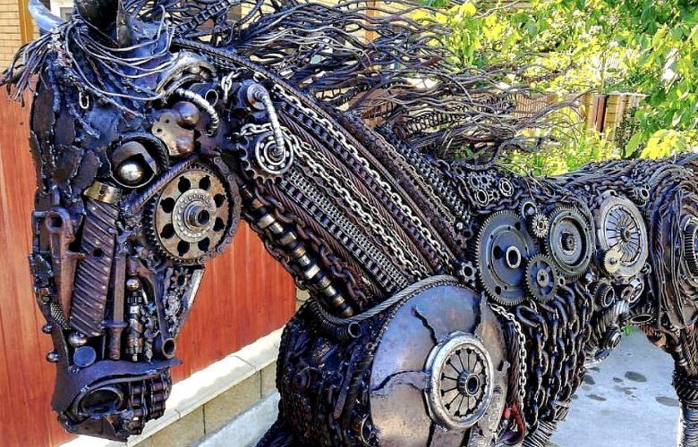 Железный конь из Белореченска