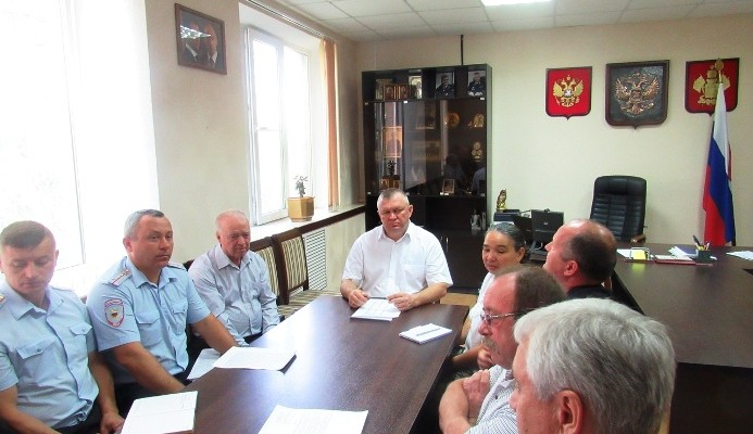 В Отделе МВД России по Белореченскому району состоялось заседание Общественного совета