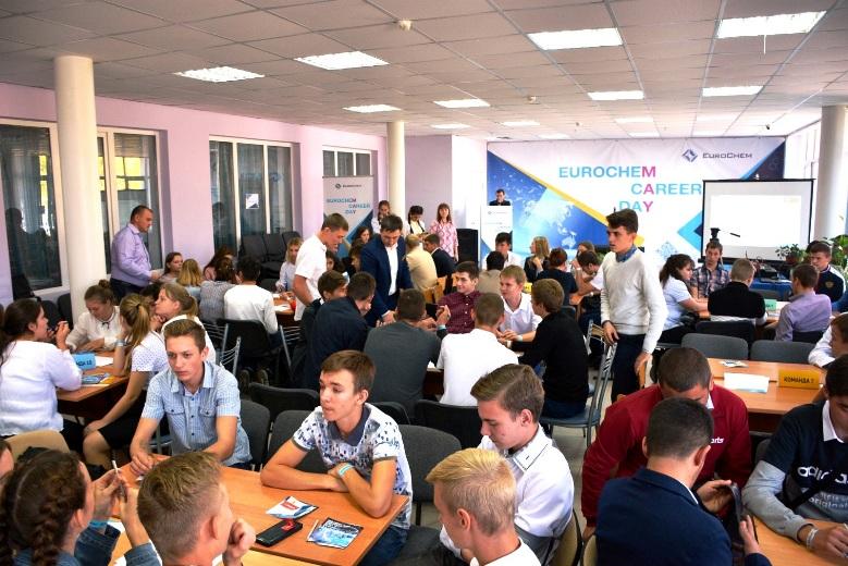 В Белореченском индустриально – технологическом техникуме прошёл День карьеры компании ЕвроХим