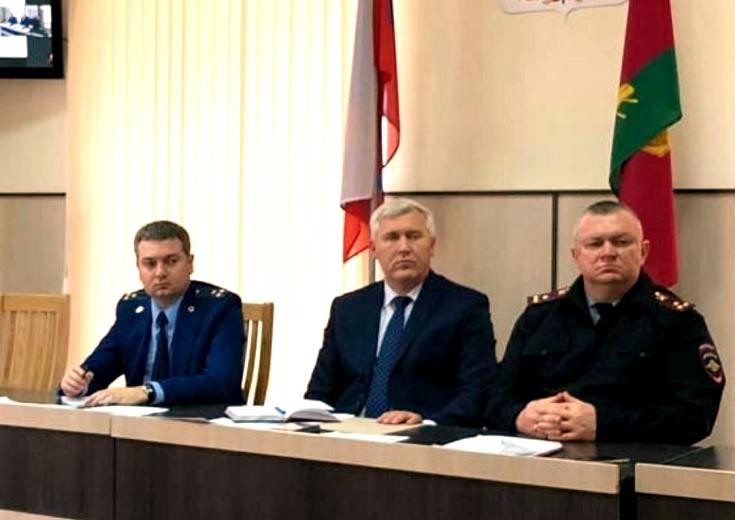 В Белореченске состоялось селекторное совещание по незаконной миграции в Краснодарском крае