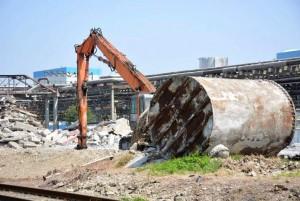 ЕвроХим-БМУ демонтирует устаревшие производство
