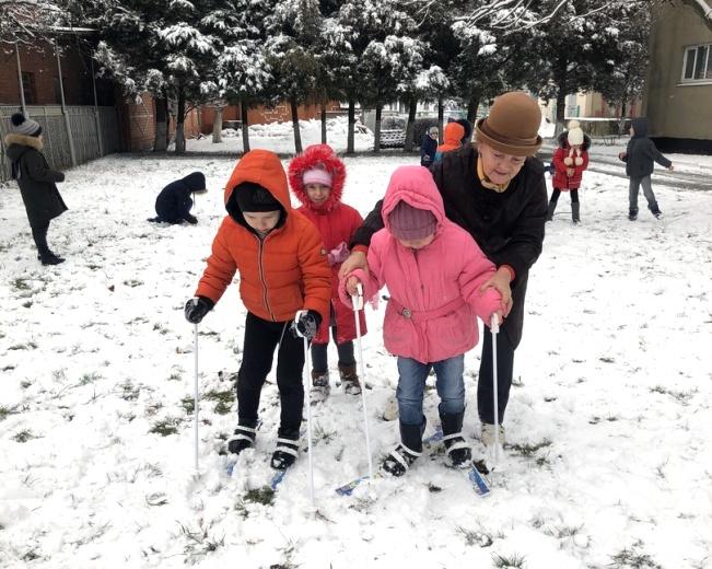 В «Теремок» пришла снежная зима