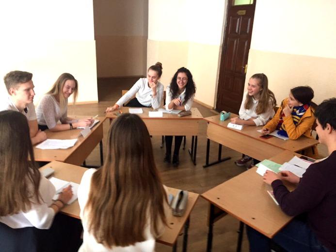 Состоялось заседание ученического совета 9-й школы