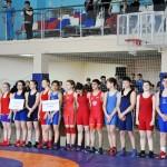 открытие Краевого первенства по вольной борьбе среди юношей и девушек до 18 лет