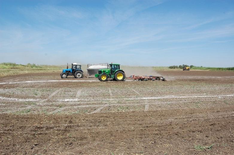 «ЕвроХим» готов помочь аграриям восстановить плодородность земель