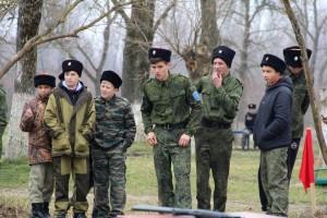 соревнования по «Пластунской полосе» среди казачьей молодежи Белореченского РКО