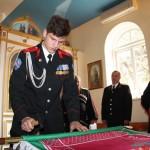 Освящение и прибивка знамени Белореченского РКО 16.02.2019