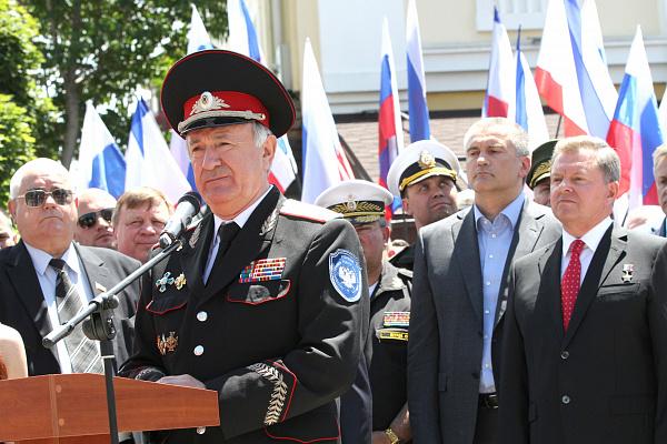 Кубанские казаки одними из первых пришли на помощь Крыму