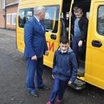 новый школьный автобус Степной