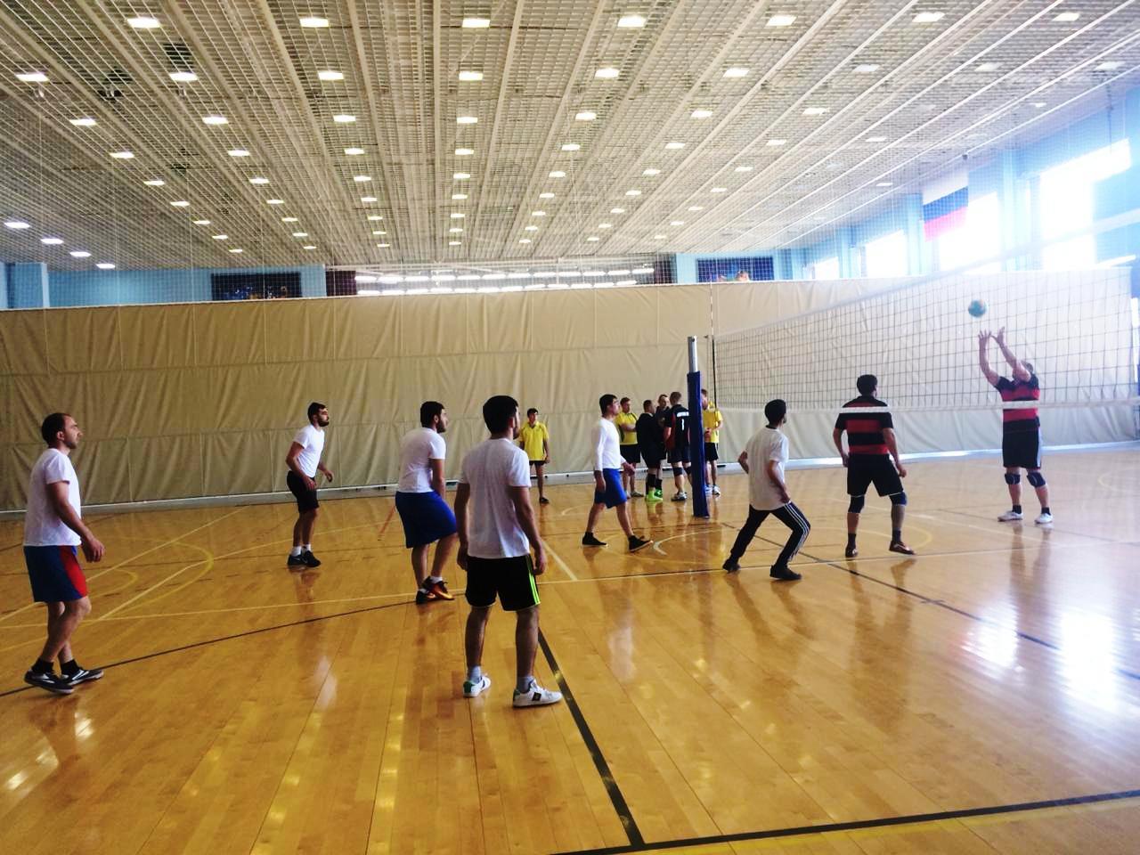 Сельские спортивные игры: Волейбол