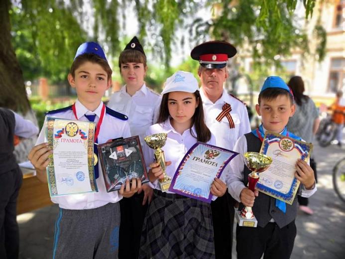 Конкурс отрядов юных инспекторов движения: «Безопасное колесо-2019»