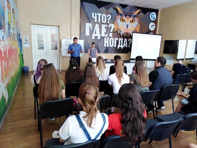 Заседание школьного (ученического) Совета Белореченского района