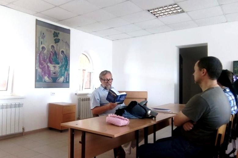 Встреча с писателем Богатыревым