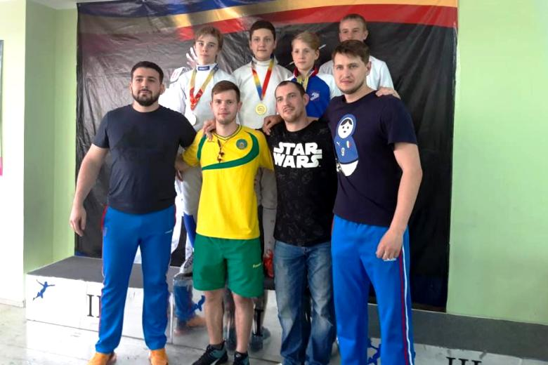 Фехтование: белореченцы выступили на Открытом первенстве ЮФО
