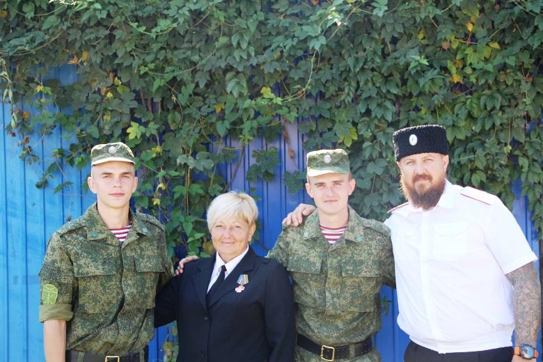 Белореченские казаки приняли воинскую присягу