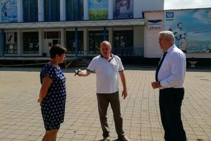 Александр Шаповалов посетил село Великовечное
