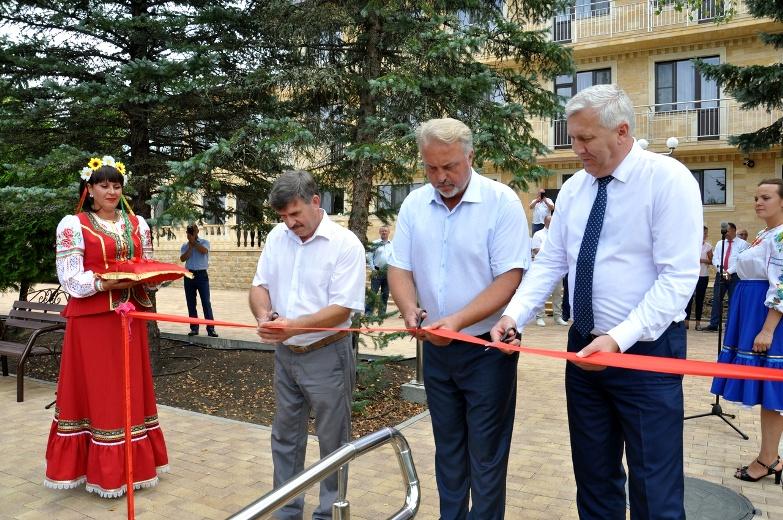Открылся бальнеологический комплекс в хуторе Кубанском