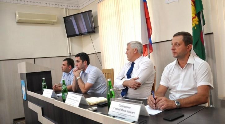 Обсудили проблемы подключения газа в Белореченском районе